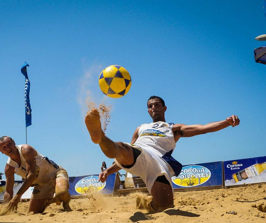 footvolley beach